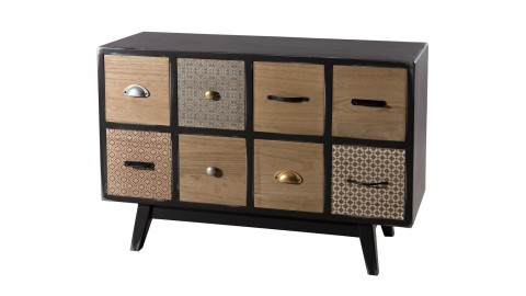 Commode 8 tiroirs - Collection Mael