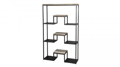 Etagère 100x170cm 3 niveaux en acacia et métal - Collection Theo
