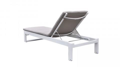 Bain de soleil en aluminium et tissu - Collection St Tropez
