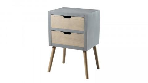 Chevet 2 tiroirs - Collection Lorenzo