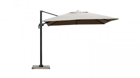 Parasol déporté 3x3m taupe - Collection Sunny