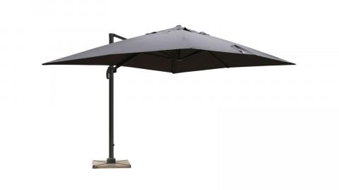 Parasol déporté 3x4m gris - Collection Sunny