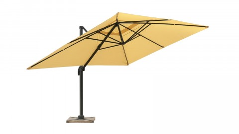 Parasol déporté 3x4m sable - Collection Sunny
