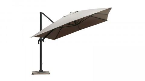 Parasol déporté 3x4m taupe - Collection Sunny