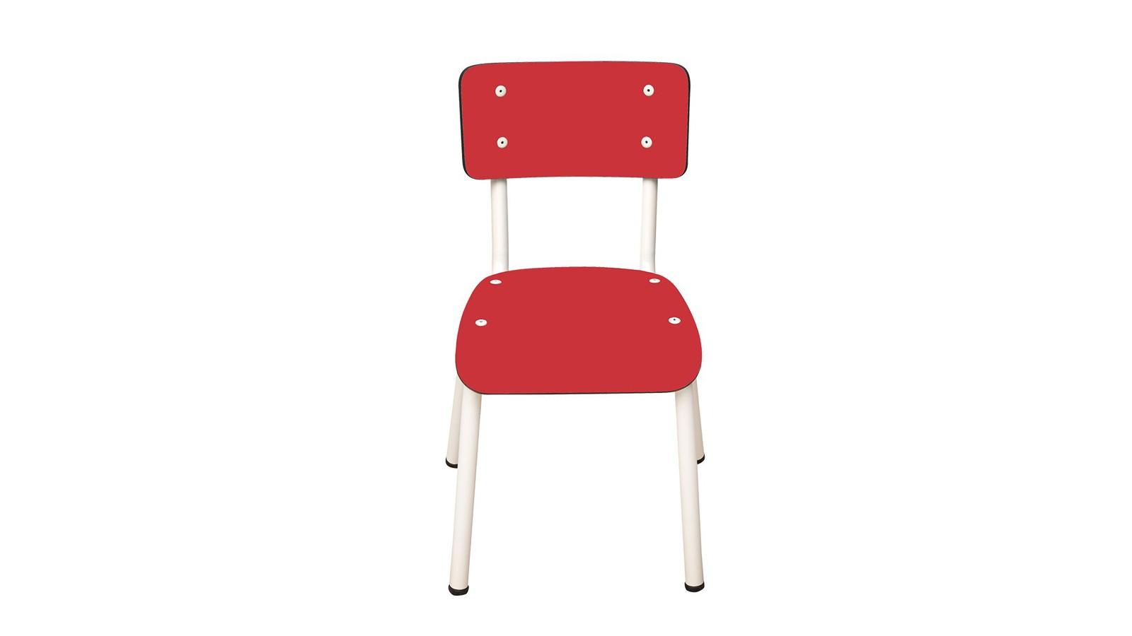 Chaise d'écolier - déco vintage chez Homifab
