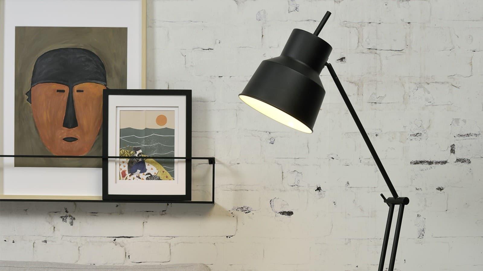 Lampadaire en métal - Homifab