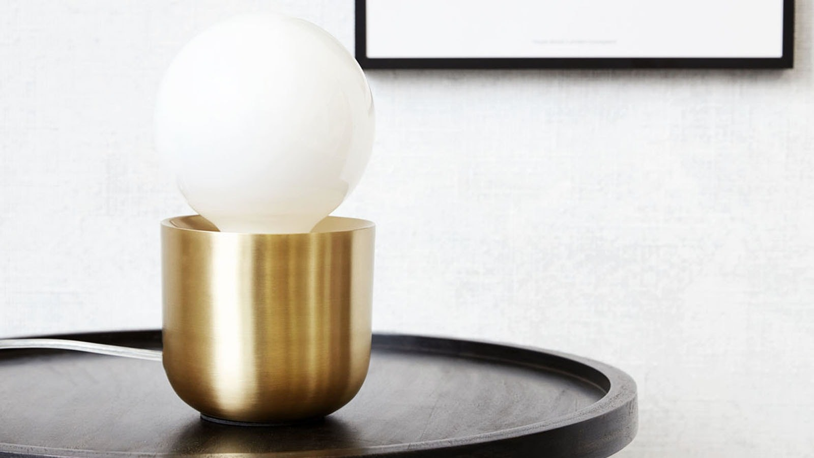 Lampe en laiton collection Gleam - Homifab