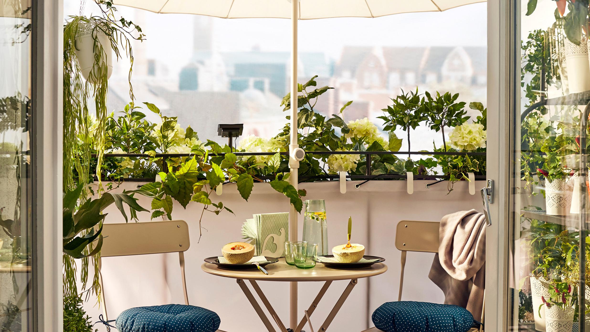Table Pour Balcon Étroit comment décorer son balcon ? - actualité