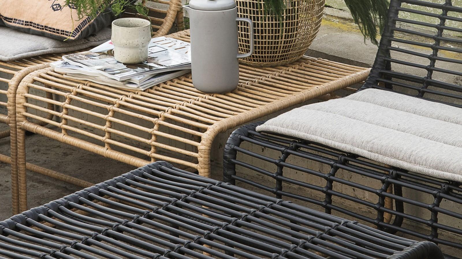 chaise métal noir pour jardin