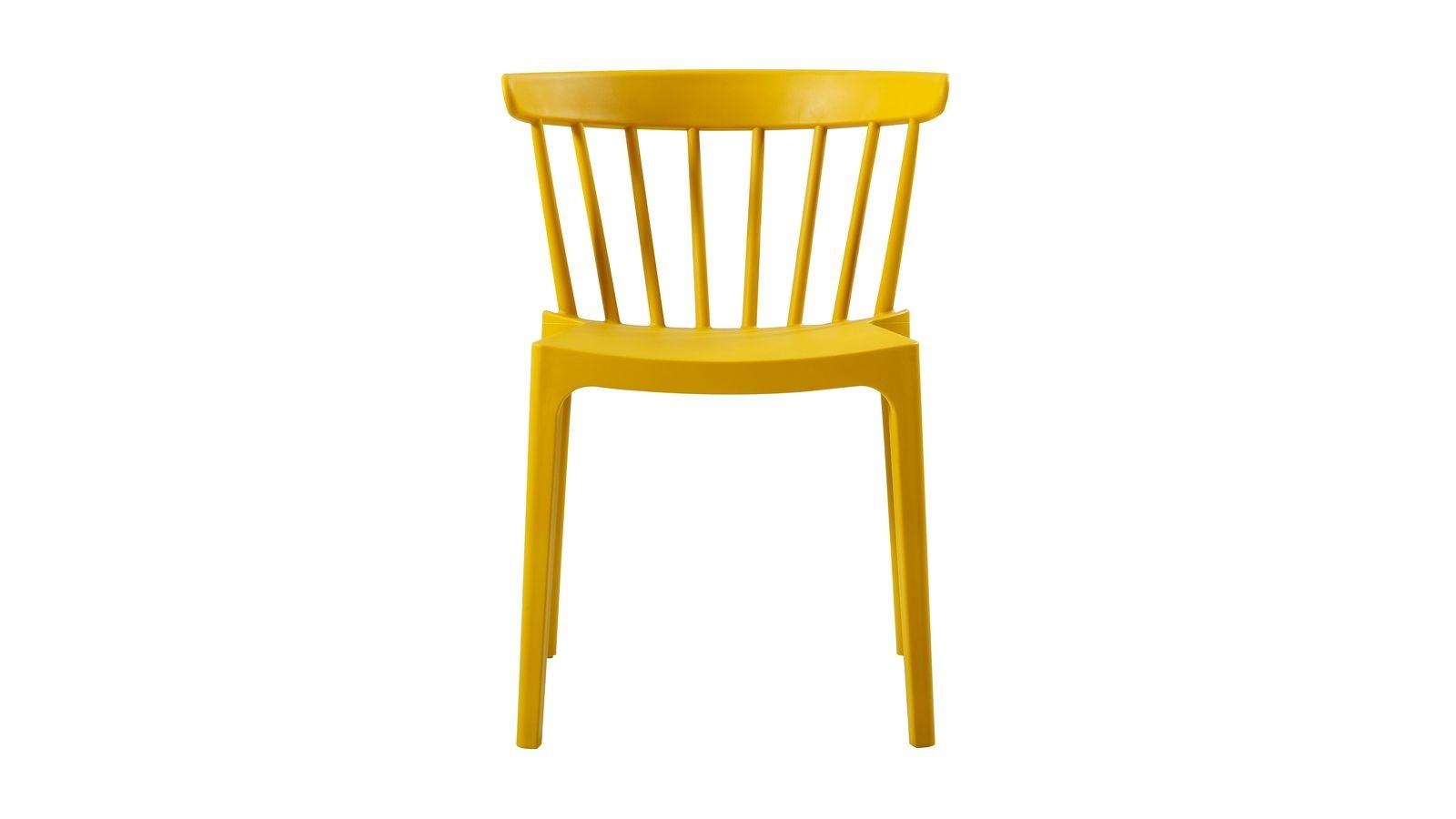 chaise ocre design