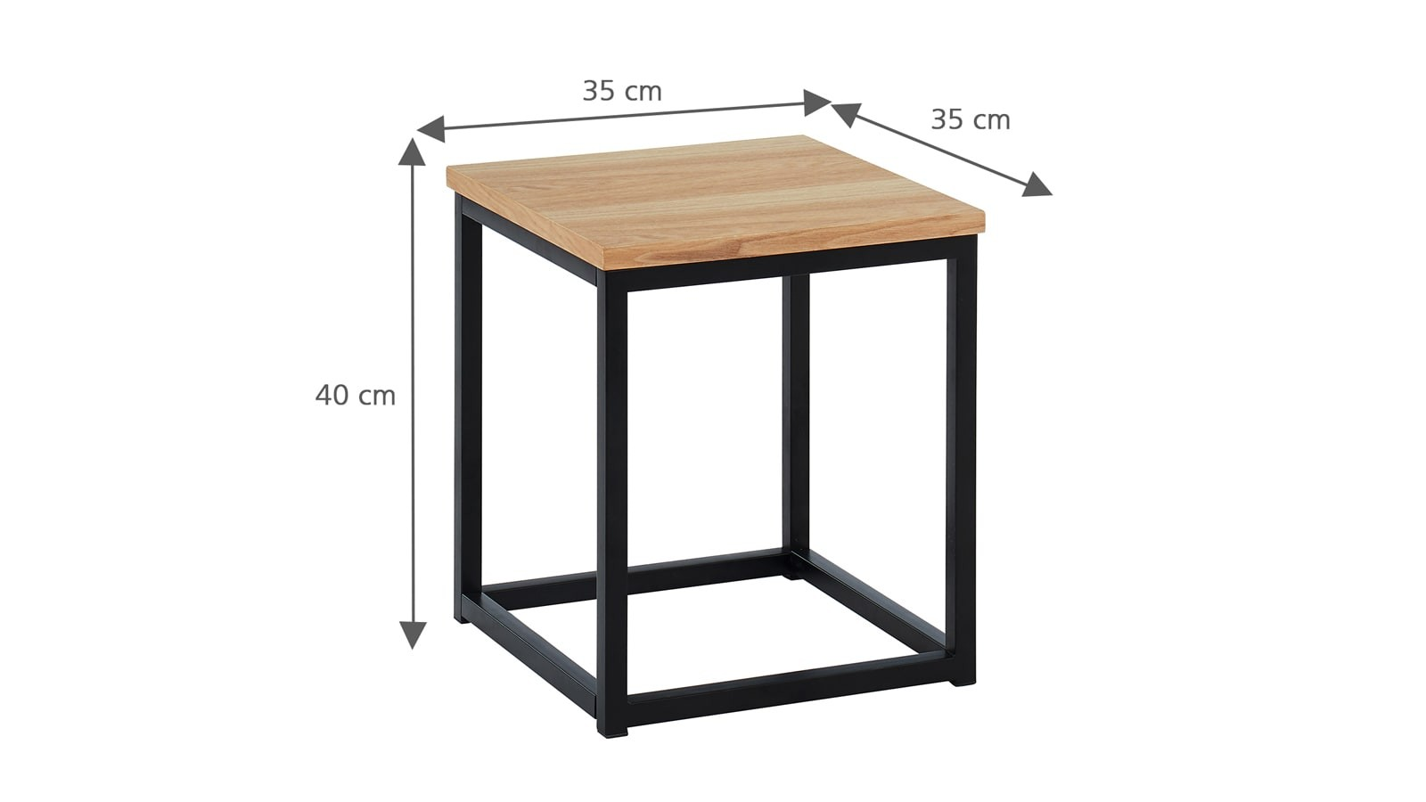 dimensions table d'appoint Brixton