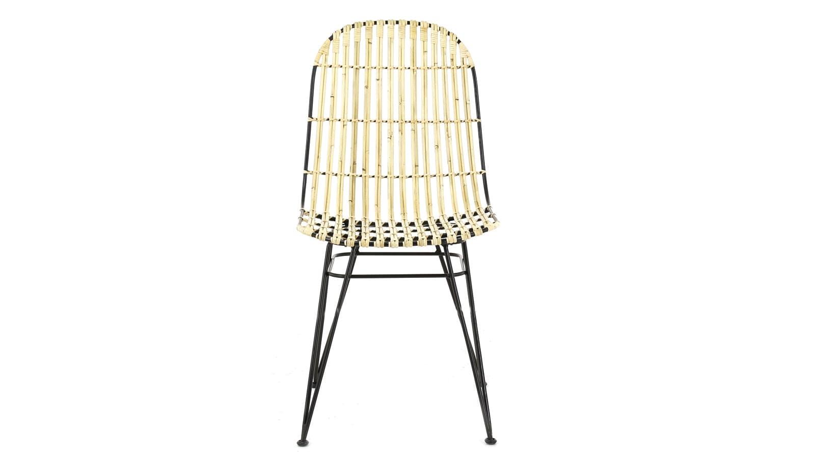 lot de 2 chaises en kubu