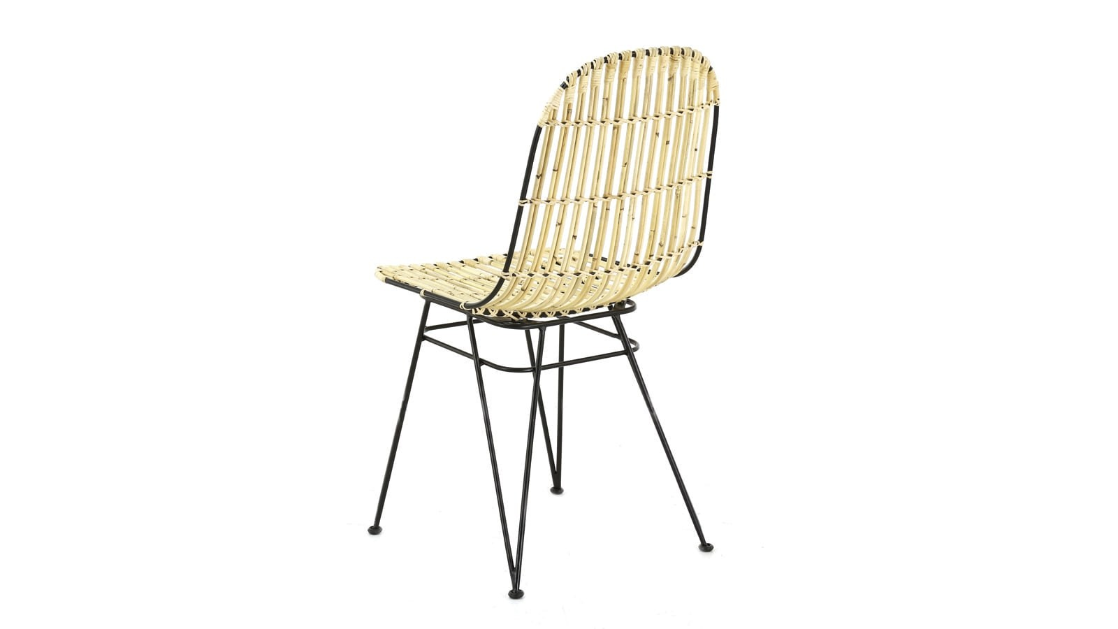 lot de chaises en kubu naturel