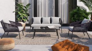 Les canapés de jardin pour un extérieur confortable