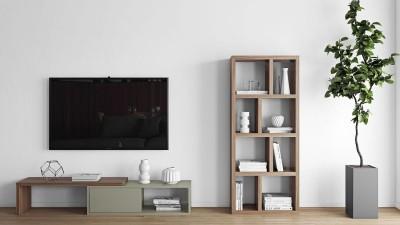 Créer un coin télé chic & cosy
